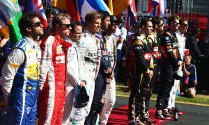 2016 F1 driver line-ups so far