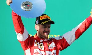 Third 'feels like victory' for Vettel