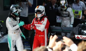Vettel mocks Rosberg in Melbourne