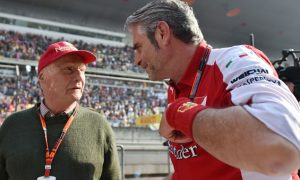 Arrivabene unsurprised by strong Mercedes