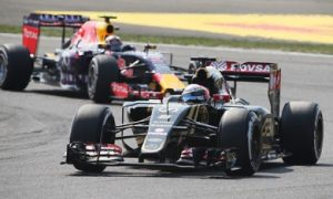 Lotus a force to be reckoned with - Grosjean