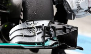 New aero tweeks for Mercedes in China