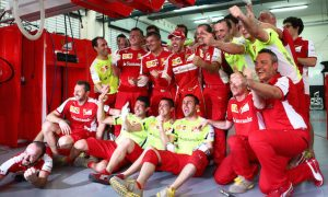 'Realistic' Vettel enjoys Ferrari rituals