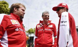 Raikkonen revels in best atmosphere at Ferrari