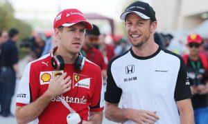 Button didn't expect Vettel success at Ferrari