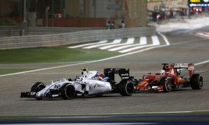 Bottas had to 'disturb' Vettel
