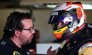 Grosjean explains Lotus engine cover explosion