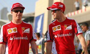 Raikkonen praises Ferrari's equal approach