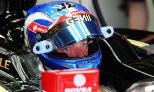 Palmer dismisses Grosjean's track time concerns