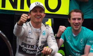 Rosberg 'the luckiest I've ever been in my career'