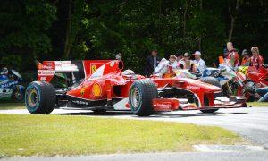 Raikkonen drives F10 at Goodwood