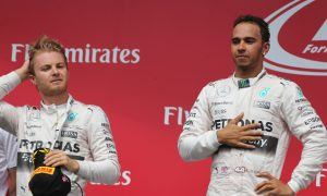 Hamilton: I was 'managing the gap' to Rosberg
