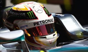 Hamilton tops first Canadian practice despite spin