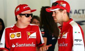 Vettel keen on Raikkonen staying on at Ferrari