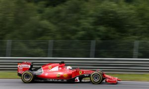 Vettel overcome by Mercedes  power
