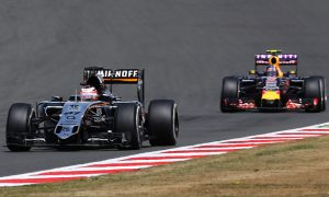 Force India targets Red Bull's fourth place