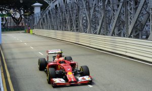 Singapore modifies track for overtaking chances
