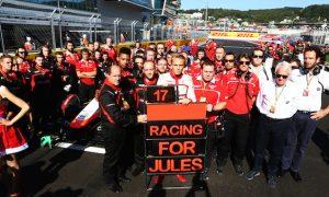 Manor 'devastated' as Bianchi passes away