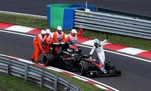 Pushing car in Hungary shows love for F1 - Alonso