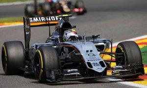 'Lack of pace' denies Perez podium