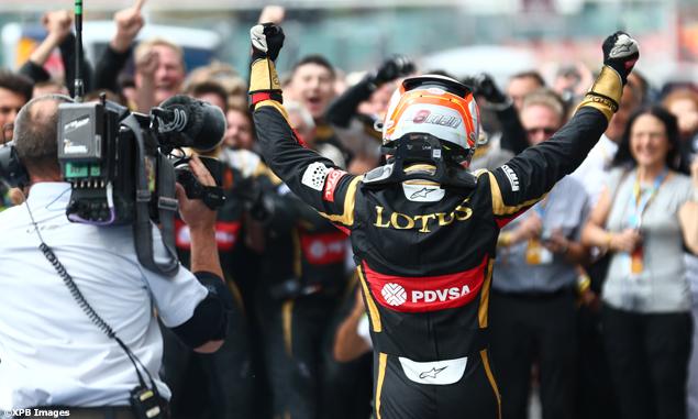 Lotus podium feels like race win - Grosjean - F1i.com