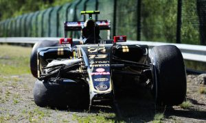 Maldonado felt FP1 crash was 'very unlucky'