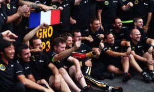 Gastaldi proud of Lotus fight