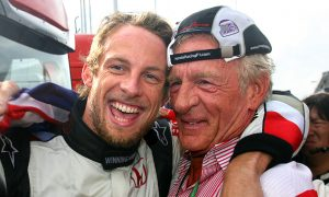 Button's maiden win in Hungary in 2006