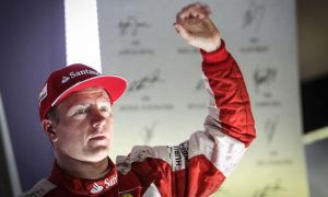 Raikkonen: 'Not ideal' to be third