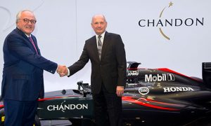 McLaren-Honda announces Chandon partnership