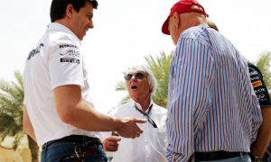 No TV 'blackout' of Mercedes - Ecclestone