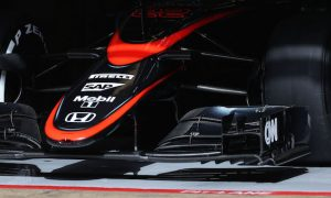 Old nose and engine penalties for McLaren