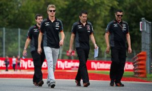 Two-year deal due to Force India potential - Hulkenberg
