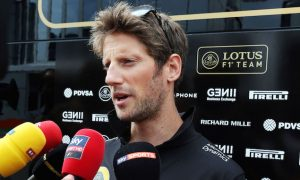 Grosjean in the dark over Lotus future