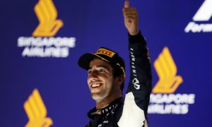 Ricciardo very happy with Singapore weekend