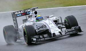 Massa notes Williams progress in wet conditions