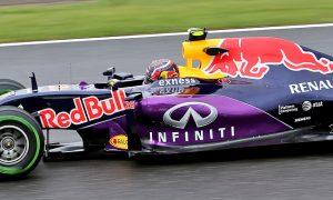 Wet Friday of little value to time-topping Kvyat