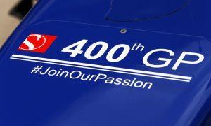 Sauber's remarkable milestone