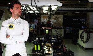 Palmer named second Lotus driver for 2016