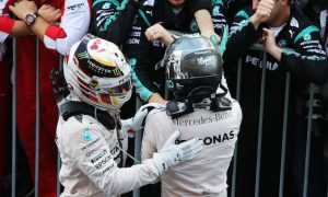 Hamilton against sharing telemetry with team mates
