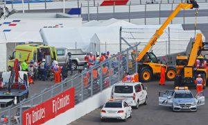 'Sore' Sainz plans on racing despite crash