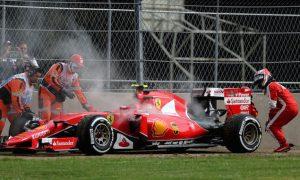 Brake problem caused premature Raikkonen exit
