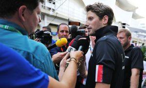 Lotus impressed with Grosjean in emotional weekend