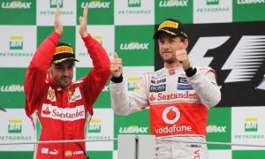 Alonso & Button's latest podium together...