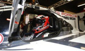 Magnussen back behind the wheel with Porsche
