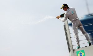 'Pumped up' Rosberg eyes back-to-back Brazil win