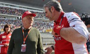 Ferrari engine now on a par with Mercedes - Lauda