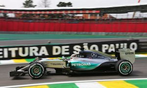 Hamilton 0.5s clear in first Brazilian practice