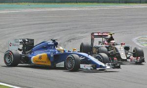 Maldonado: F1 'penalises every bit of contact'