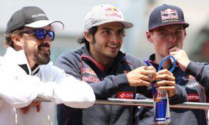 Verstappen pairing a boost for Sainz - Alonso